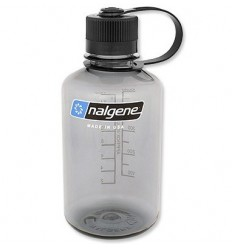 Nalgene - Butelka 16oz Narrow Mouth - Gwint 38 mm - 0,6L - Szary