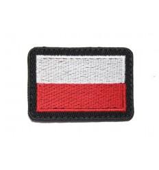 Naszywka Flaga Polska - Kolor - wz.814/MON