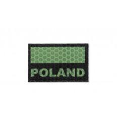 Combat-ID - Naszywka Polska - Gen I C3 - Zielony