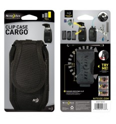 Nite Ize - Etui na telefon - Clip Case Cargo - Tall - Czarny - CCCT-03-01