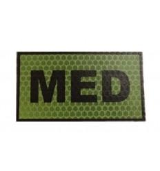 Combat-ID - Naszywka MED - Olive - Gen I
