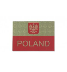 KAMPFHUND - Naszywka Polska - Na czapkę - Kolor/Gaszona - Gen I
