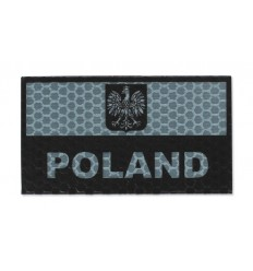 Combat-ID - Naszywka Polska - Duża - Foliage Green - Gen I