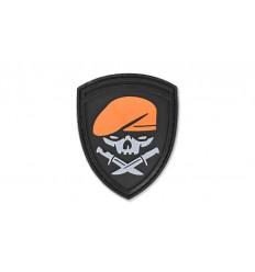 4TAC - Naszywka 3D - Knives Skull / Medal of Honor