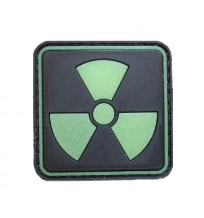 4TAC - Naszywka Radioactive I - 3D PVC - Świecąca