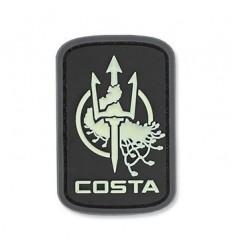 MIL-SPEC MONKEY - Naszywka Costa Ludus Logo - PVC - Green Glow