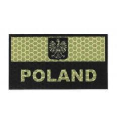 Combat-ID - Naszywka Polska - Piaskowy - Gen I A1