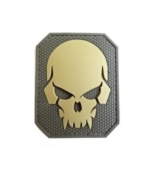 MIL-SPEC MONKEY - Naszywka Pirateskull Large - PVC - MultiCam