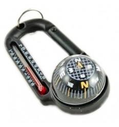 Fosco - Karabinek z kompasem i termometrem