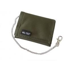 Mil-Tec - Portfel z łańcuchem - Zielony OD - 15811001