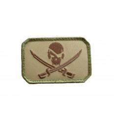 MIL-SPEC MONKEY - Naszywka PirateSkull Flag - MultiCam