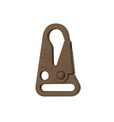 "ITW Nexus - Klamra / karabinek HK Style 1"" Snap Hook - Coyote Brown"