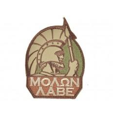 MIL-SPEC MONKEY - Naszywka Molon Labe - Multicam