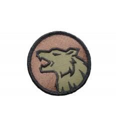 MIL-SPEC MONKEY - Naszywka Wolf head - Forest
