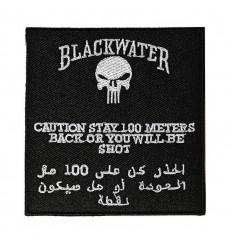 101 Inc. - Naszywka - Blackwater 100 metrów -Rzep - Czarny