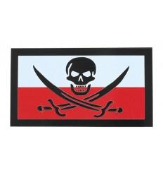 KAMPFHUND - Naszywka Polska Calico Jack - Duża - Kolor - Gen II IR