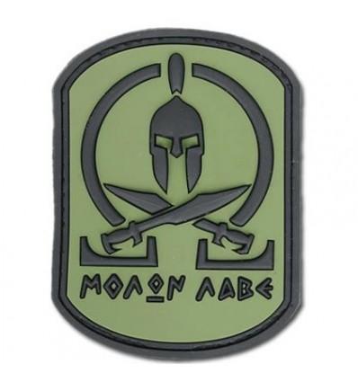 Naszywka JTG Molon Labe Spartan forest