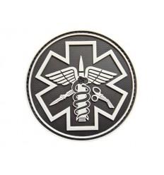 101 Inc. - Naszywka Paramedic - 3D PVC - Grey