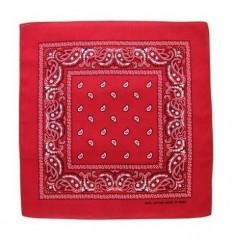 CAMO - Chusta / Bandana - 55x55cm - Czerwony