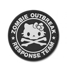4TAC - Naszywka Zombie Outbreak Kitty - 3D PVC