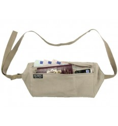 McNETT - Portfel podróżny - Silk Money Belt - Jedwab - 68235