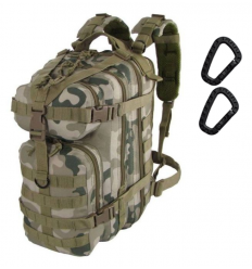 CAMO - Plecak ASSAULT Backpack - 25Litrów - Pantera Pustynna - PL-AS-BP-PD