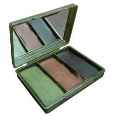 BCB - Farba maskująca - Camuflage Cream - 3 Colour Compact - Brązowy / Zielony / Czarny - CL1482AD