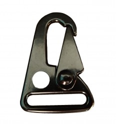Mtac - Klamra SLING CLIP /typ Snap Hook / - Czarny