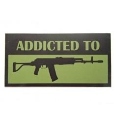 Combat-ID - Naklejka - Addicted to Beryl - Oliwkowy