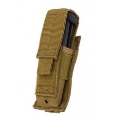 Condor - Ładownica Single Pistol Mag Pouch - Coyote Brown - MA32-003