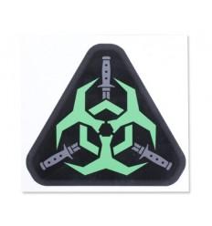 MIL-SPEC MONKEY - Naklejka - Outbreak Response - Zielony