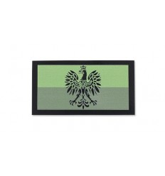Combat-ID - Naszywka Polska Godło - Mała II - GR/OD - Gen II IR