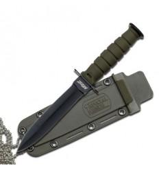 MTech - Nóż Kabai Fixed Blade Dagger Olive Green - MT-632DGN