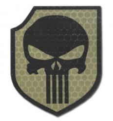 Combat-ID - Naszywka Punisher - Act Of Valor Navy Seals Gen I - Coyote