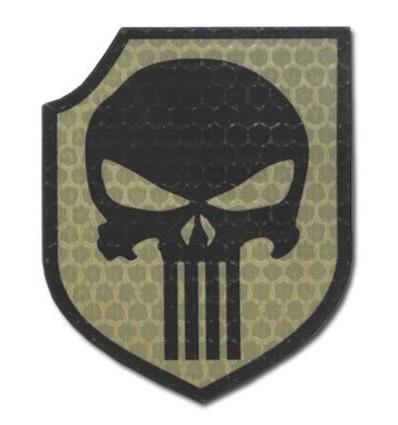 Combat-ID - Naszywka Punisher - Act Of Valor Navy Seals Gen I - Coyote