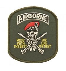 101 Inc. - Naszywka Airborne Skull