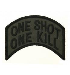 101 Inc. - Naszywka One Shot One Kill - Zielony OD