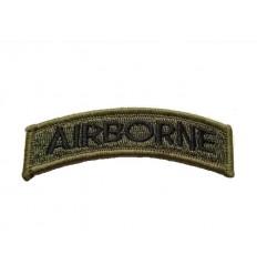 101 Inc. - Naszywka Airborne Tab - Zielony Olive
