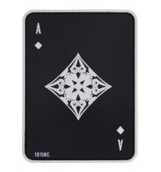 101 Inc. - Naszywa Ace of Diamonds - 3D PVC - Czarny