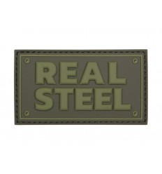 101 Inc. - Naszywka Real Steel - 3D PVC - Zielony