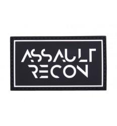 101 Inc. - Naszywa Assault Recon - 3D PVC - Czarny
