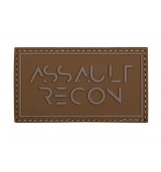 101 Inc. - Naszywa Assault Recon - 3D PVC - Coyote