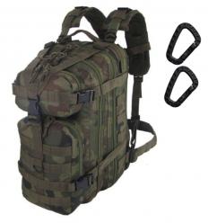 CAMO - Plecak ASSAULT Backpack - 25Litrów - Pantera Leśna wz.93 - PL-AS-BP-WZ