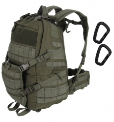 CAMO - Plecak OPERATION Backpack - 35Litrów - Zielony OD - PL-OP-BP-OG