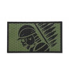 Combat-ID - Naszywka Husarz - OD - Gen I