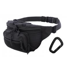 CAMO - Nerka / Torba na pas - Kangoo Waist Pack 3L - Czarny - TO-KG-WP-BL