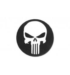 Combat-ID - Naszywka Punisher - Czarny - Okrągła - Gen III
