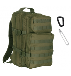 101 Inc. - Plecak 1-Day Assault Pack - 25 Litrów - Zielony