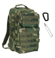 101 Inc. - Plecak 1-Day Assault Pack - 25 Litrów - Woodland