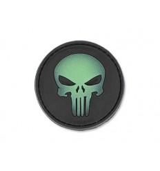 4TAC - Naszywka Punisher Skull 3D - Świecąca czaszka